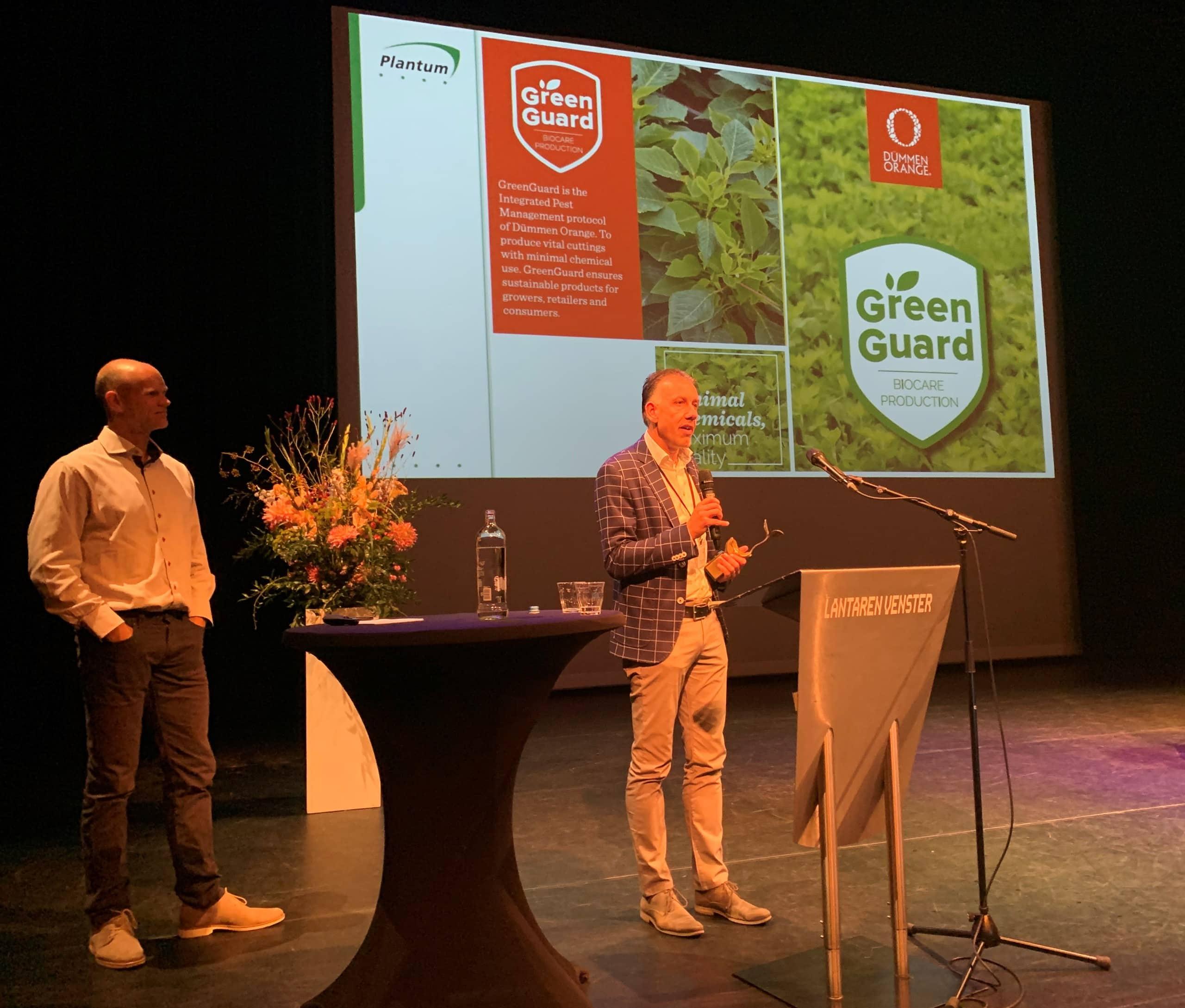 Dummen Orange wint Plantum Duurzaamheidsprijs